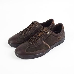 Ecco Leather Lace Up Sneakers Size 43, 9-9.5